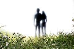 Adam und Eve nach ihrem Fall Stockfotos