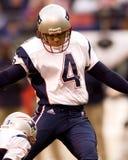 Adam Vinatieri, golpeador de los New England Patriots Foto de archivo