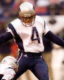Adam Vinatieri, New England Patriots kicker. New England Patriots legendary kicker Adam Vinatieri. (Image taken from color slide Stock Photo