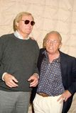 Adam West, Frank Gorshin Lizenzfreie Stockbilder
