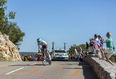 Adam Yates, Einzelzeitfahren - Tour de France 2016 Lizenzfreies Stockfoto