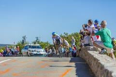 Adam Yates, Einzelzeitfahren - Tour de France 2016 Stockfotografie