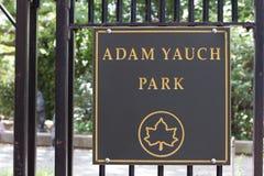 Adam Yauch Park Lizenzfreies Stockbild