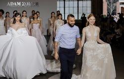 Adam Zohar Bridal 2018-2019 Stockbild