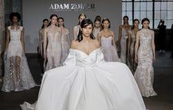 Adam Zohar Bridal 2018-2019 Lizenzfreies Stockfoto