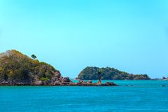 Adaman sea, Koh Lanta, Krabi, Thailand. stock photo