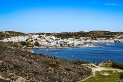 Adamas-Milos, Griechenland Stockfotos