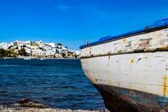 Adamas-Milos, Griechenland Lizenzfreies Stockfoto