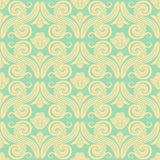 adamaszkowy deseniowy bezszwowy Elegancki rocznik tekstury tło dla tapet, opakunkowy papier i strona, wypełniamy ilustracja wektor