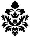 Adamaszkowy emblemat Fotografia Stock