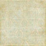 Adamaszkowy Paisley antykwarski tło Fotografia Royalty Free