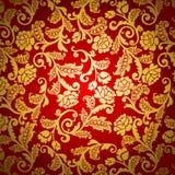 adamaszkowy wzór royalty ilustracja