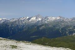 Adamello-Berg Stockfoto
