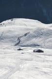 Adamello in de winter Royalty-vrije Stock Afbeeldingen