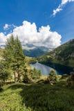 Adamello mit Camp See - Trento Italien Lizenzfreies Stockbild