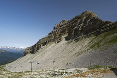 Adamello Mount Stock Photo