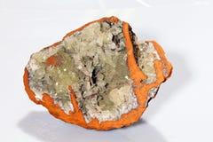 Adamit-Mineral Lizenzfreie Stockbilder