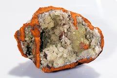 Adamit-Mineral Lizenzfreie Stockfotografie