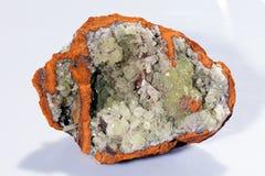 Adamit-Mineral Lizenzfreies Stockbild