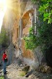 Adamkayalar - figuras talladas roca Turquía Foto de archivo libre de regalías