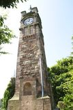The Adams clock tower, Tunstall park, Staffordshire, England Stock Photography