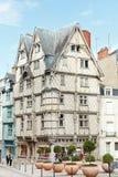 Adams Haus auf Platz Sainte-Croix, verärgert, Frankreich Stockbilder