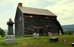 adams MA : Lieu de réunion de Quaker Photographie stock