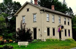 Adams, MA: Susan B Anthony Birthplace Stockfotos