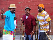 Adams Morgan Day Festival Music Trio Immagine Stock