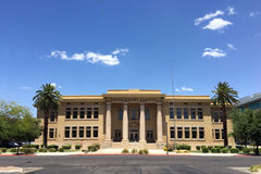 Adams School now Grace Court School in Phoenix downtown, AZ Royalty Free Stock Photography