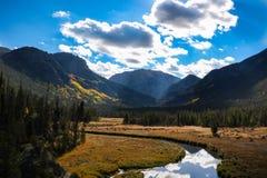 Adams Spada Rzeczna dolina Obraz Royalty Free