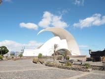 Adan Martin Auditorium of Tenerife Stock Photos