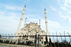 Adana die Türkei - Moschee Sabancı Merkez Lizenzfreie Stockfotografie