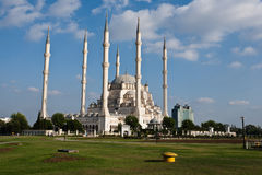 Adana Grand Mosque. Exterior of Sabanci Central Mosque in Adana, Turkey Stock Photography