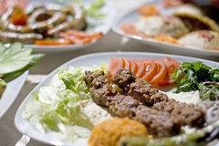 Adana Kebab. Traditional food from Turkish cuisine. It is named as Adana Kebabi Stock Images