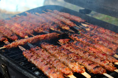 Adana-Kebab Lizenzfreies Stockbild