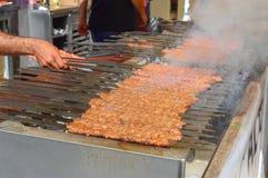 Adana-Kebab von Adana die Türkei Stockbilder