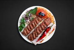 Adana-kebabi Stockbilder