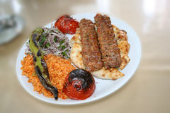 Adana Kebap Royalty Free Stock Photos