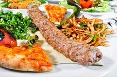 Adana-kebap, gekochtes Fleisch Stockfoto