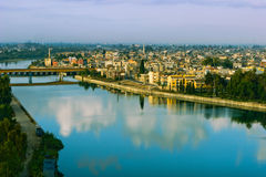 Adana Turkey. View of Seyhan river in Adana Turkey in the morning Stock Photos