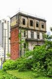 Adandoned construisant la porcelaine de Changhaï Image stock