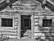 Adandoned log cabin Stock Photography