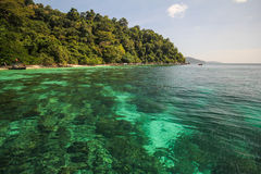 Adang-Insel, Koh Adang Satun-Provinz Thailand Lizenzfreie Stockfotos