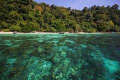 Adang-Insel, Koh Adang Satun-Provinz Thailand Lizenzfreies Stockbild