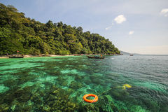 Adang-Insel, Koh Adang Satun-Provinz Thailand Lizenzfreies Stockfoto
