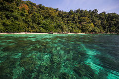 Adang-Insel, Koh Adang Satun-Provinz Thailand Stockfotos