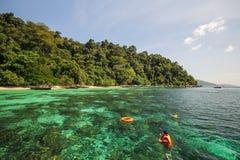 Adang-Insel, Koh Adang Satun-Provinz Thailand Lizenzfreie Stockfotografie