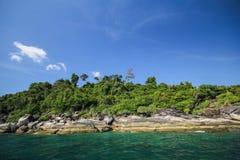 Adang-Insel, Koh Adang Satun-Provinz Thailand Lizenzfreie Stockbilder