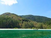 Adang Island. Island in the Andaman Sea. stock image